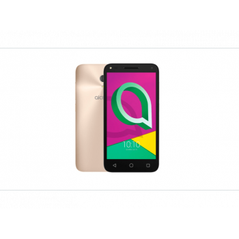 "Alcatel U5, 5"" Quad-Core 1GB RAM 16GB - Dorado"