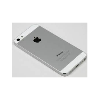 Carcasa Trasera iPhone 5 - Blanco Plata