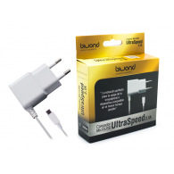 Cargador de pared Ultrarapido 2.1A Micro USB Blanco