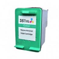Cartucho de tinta compatible HP - 351XL COLOR