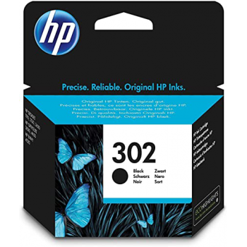 Cartucho HP 302 Original - Negro