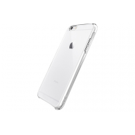 FUNDA DE SILICONA RIGIDA TRANSPARENTE iPHONE 6 PLUS