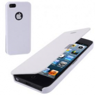Funda Flip Cover iPhone 5/5S Blanco (Con Imán)