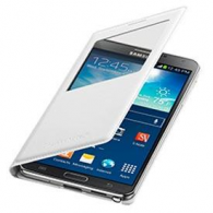 Funda Flip Cover Samsung Galaxy NOTE III - Blanco