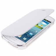 Funda Flip Cover Samsung i8190 Galaxy SIII Mini Blanco