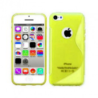 Funda Gel TPU iPhone 5 Amarilla