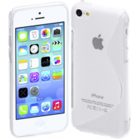 Funda Gel TPU iPhone 5 Blanca