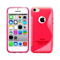 Funda Gel TPU iPhone 5 Roja
