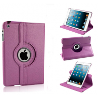 Funda iPad Mini Giratoria Piel Morado