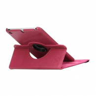 Funda iPad Mini 4 Giratoria Piel Rosa