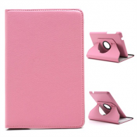 Funda iPad Mini Giratoria Piel Rosa Palo