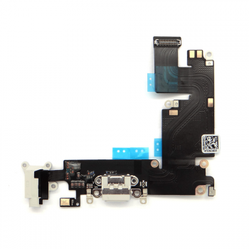 iPhone 6 Plus - Flex Conector de Carga Micrófono y Jack BLANCO