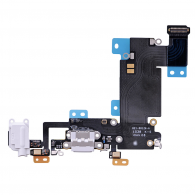 iPhone 6S Plus - Flex Conector Carga Micrófono Audio BLANCO