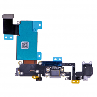 iPhone 6S Plus - Flex Conector Carga Micrófono Audio GRIS