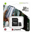 MICRO SD 32GB KINGSTON CLASE 10