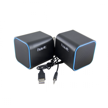 Mini Altavoces USB 2.0 2x3W HAVIT - Azul