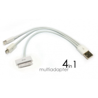 USB 4 en 1 iPhone, iPad, Sansung, Blackberry